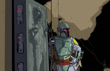 Boba and his Bounty (Color) by Hodges-Art