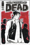 The Walking Dead 109 Sketch Cover: Daryl Dixon