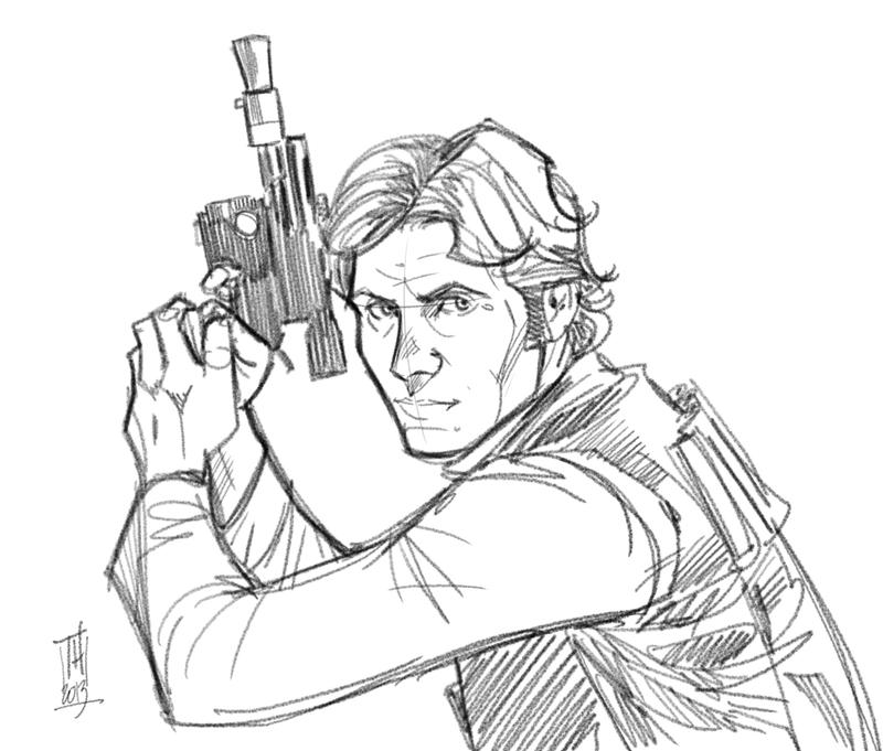 han solo coloring pages - photo#31