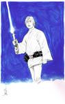Luke Skywalker inked