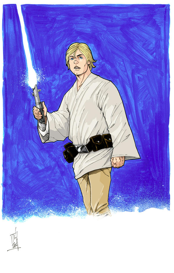 Luke Skywalker by Hodges-Art