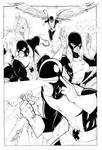 Classic X-Men inked