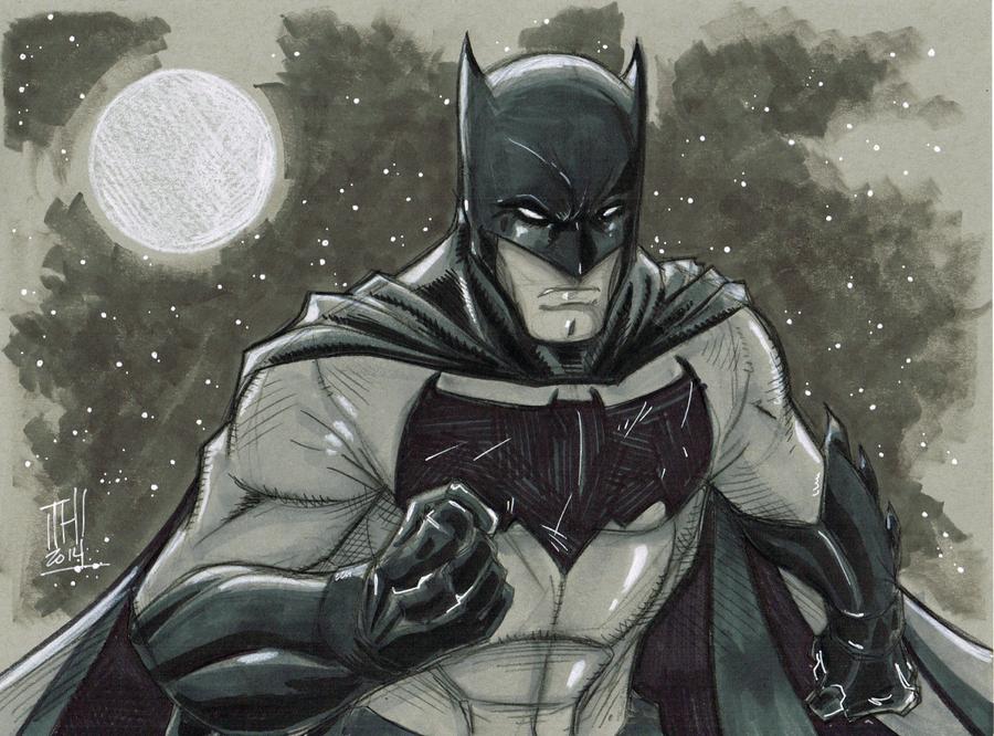 Respirer Paris, cela conserve l'âme. [The Bat] Batman_daily_sketch_5_14_2014_by_hodges_art-d7if6ij