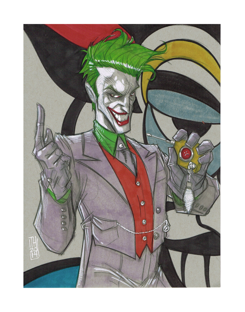 The Joker by Hodges-Art
