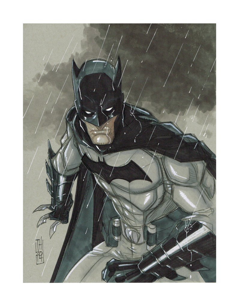 Batman by Hodges-Art