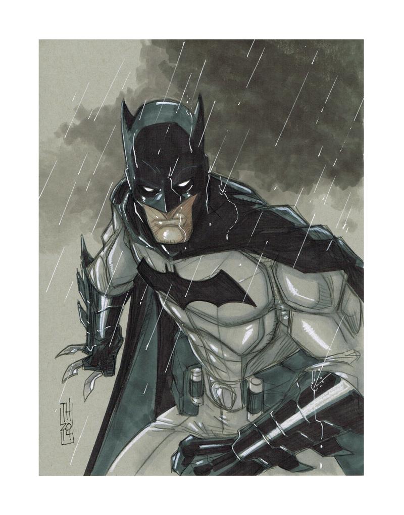 Batman by Hodges-Art