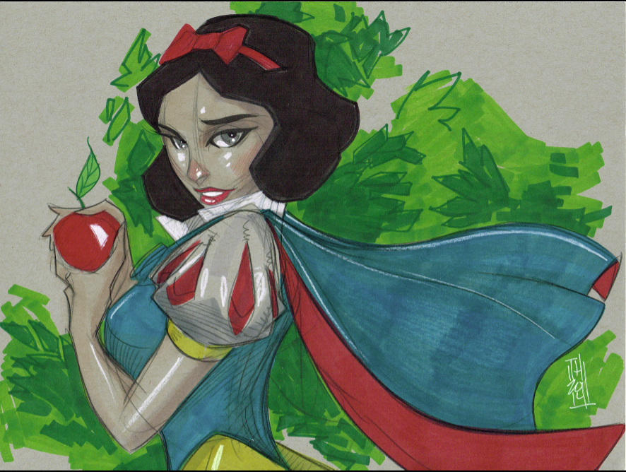 Snow White by Hodges-Art