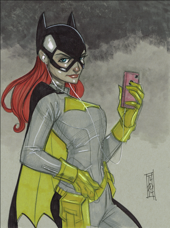 NEW Batgirl by Hodges-Art