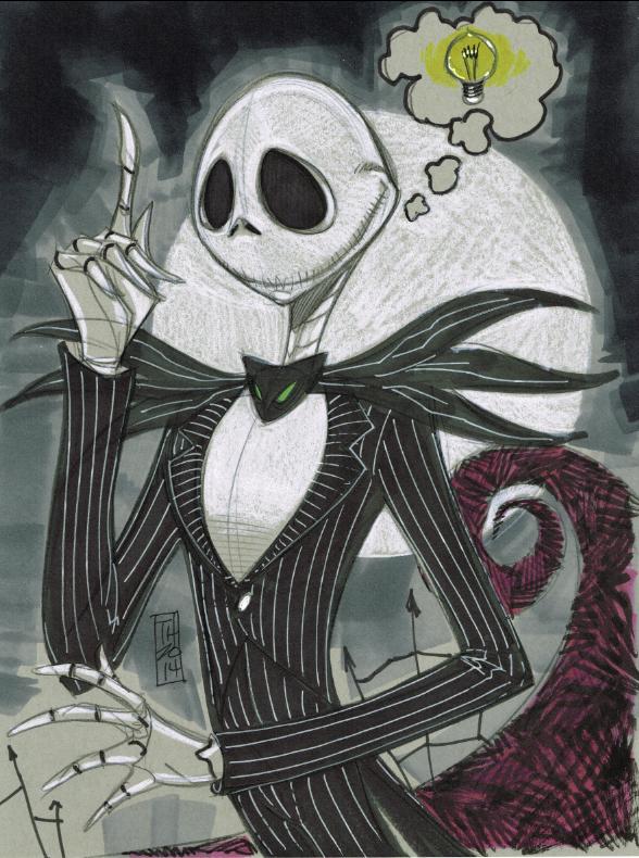Jack Skellington by Hodges-Art