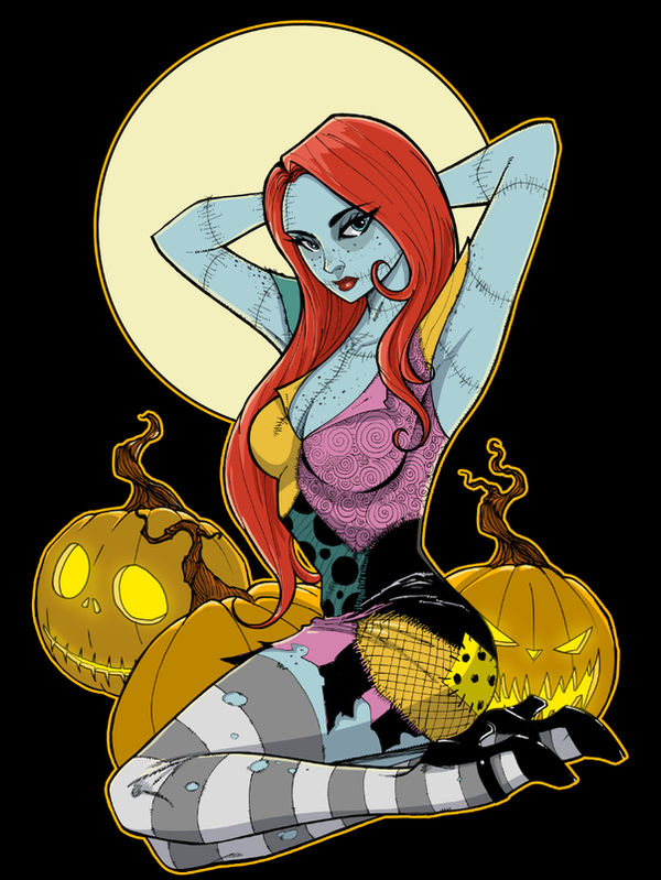 Pin Up Doll TeeFury shirt by Hodges-Art