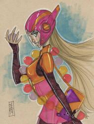 Honey Lemon from Big Hero 6 by Hodges-Art