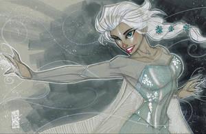 Elsa 11/27/2014 by Hodges-Art