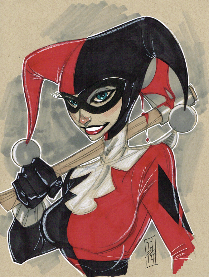 Harley Quinn 11/28/2014 by Hodges-Art