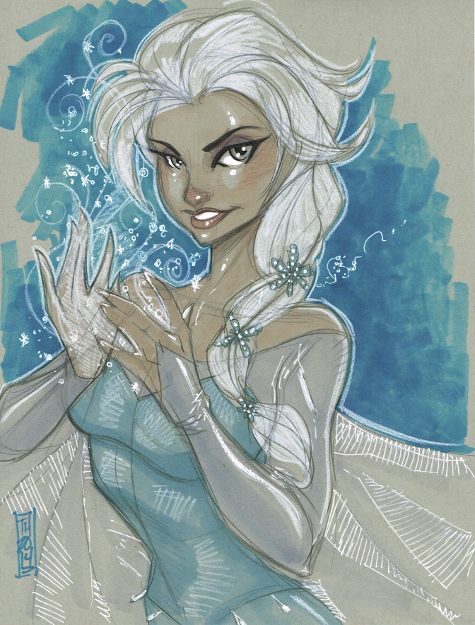Elsa 11/29/2014 by Hodges-Art
