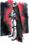 Captain Phasma from STAR WARS: THE FORCE AWAKENS