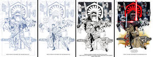 Star Wars The Force Awakens, step by step by Hodges-Art