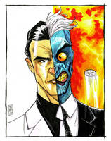 Two-Face by Hodges-Art
