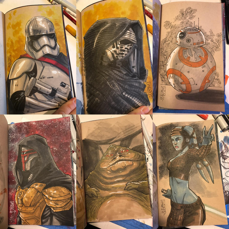 The Star Wars Sketch Book 08 by Hodges-Art