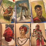 The Star Wars Sketch Book 09