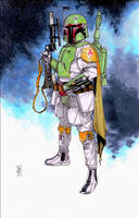 Boba Fett by Hodges-Art