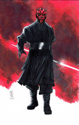Darth Maul by Hodges-Art