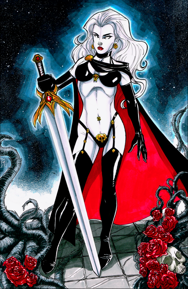 Lady Death by Hodges-Art