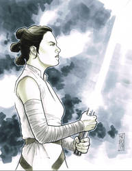 Rey by Hodges-Art