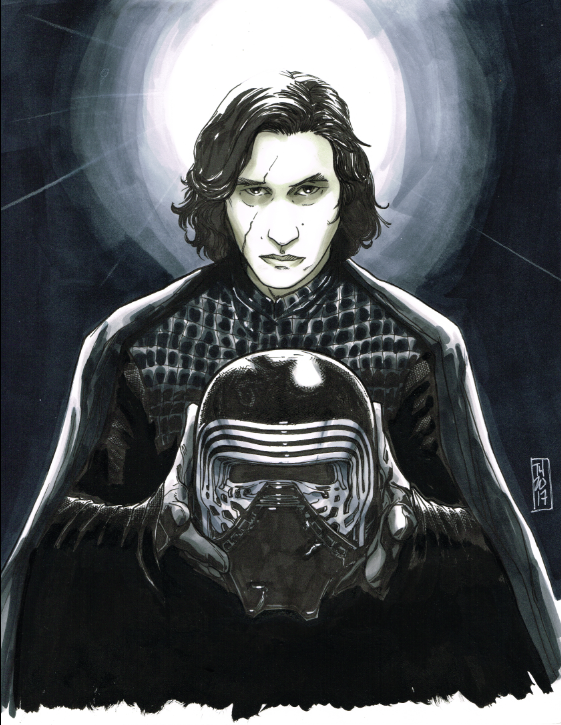 Kylo Ren by Hodges-Art