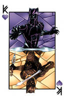The Kings of Wakanda (Color) by Hodges-Art