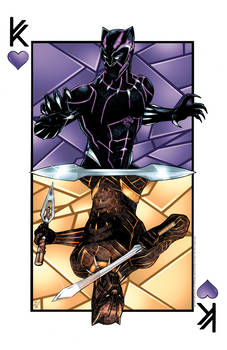 The Kings of Wakanda (Color)