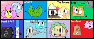 My Favorite BFB Characters! by BlairWitch9