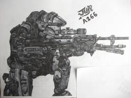 Jun from Halo:Reach by HaloReach726