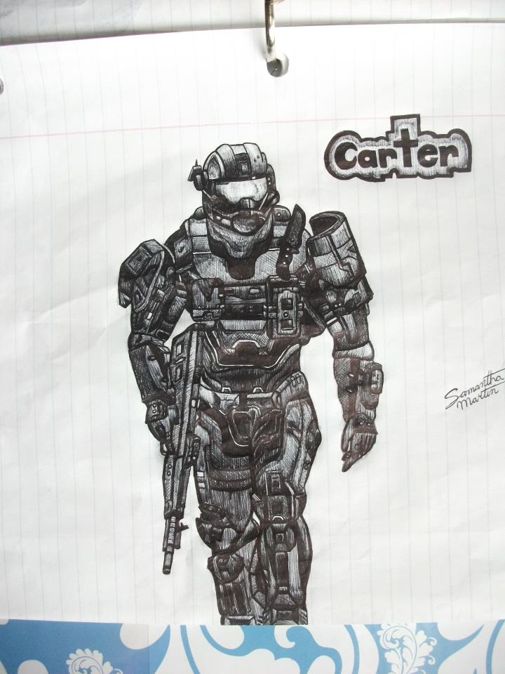 Carter from Halo:Reach by HaloReach726