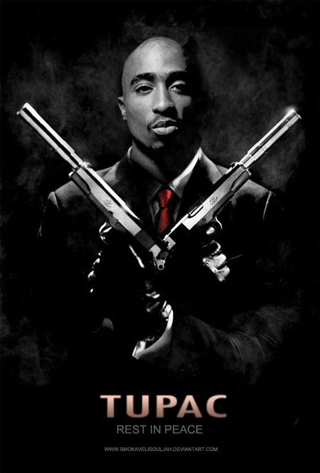 Tupac by SmokaveliSouljah
