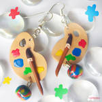 Colorful Palettes Earrings