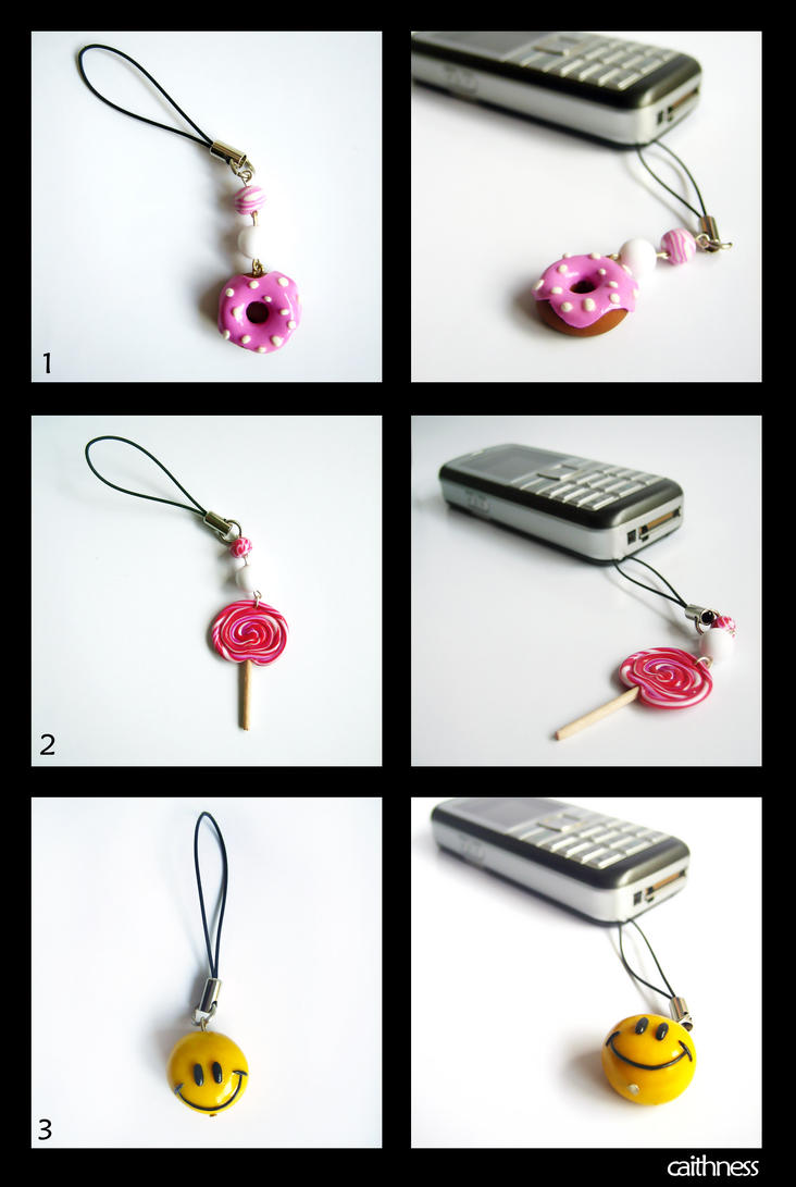 Cell Phone Charms by caithness-shop