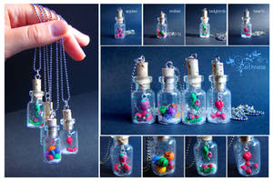 New tiny bottles by caithness-shop