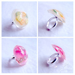 Juicy domed rings