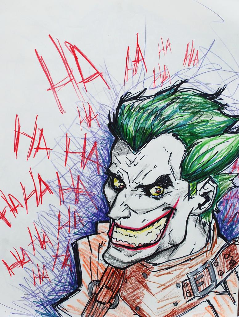 The Joker by Alende
