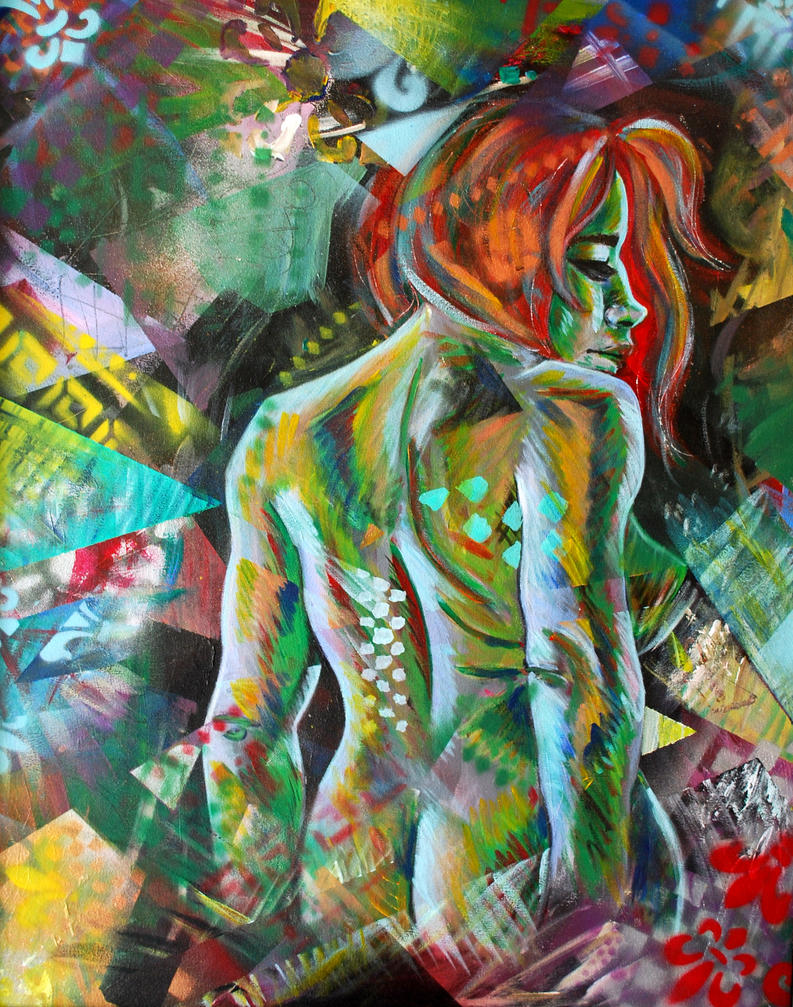 Ivy - Ladies in Abstraction - by Alende