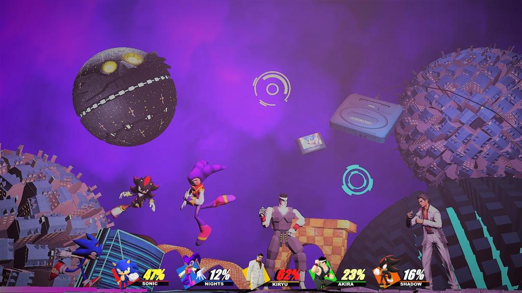 Sega Smash Bros by Hesei-Pikmin
