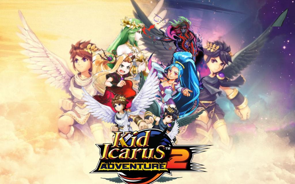 Kid Icarus Adventure 2 by Hesei-Pikmin