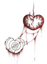 Bleeding Heart by albinodemon