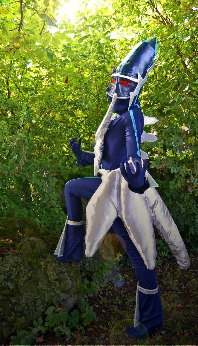 The Master of Time (Dialga Cosplay) by Cita-la-Star