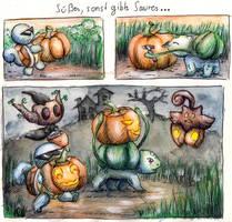 Bulbasaurs Halloween by Cita-la-Star