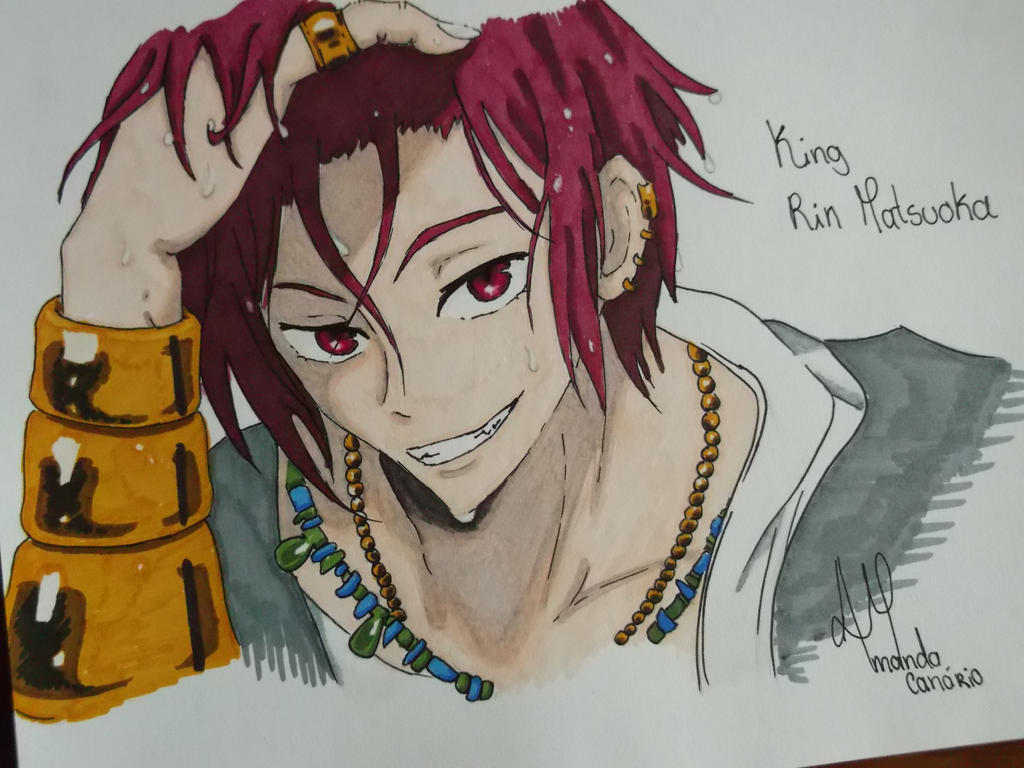 King Rin Matsuoka Free By Ninatchy On Deviantart Rin matsuoka super cut)all credits to the creators of free!all scenes relating to rin, because i love this guy so much!part 2. deviantart