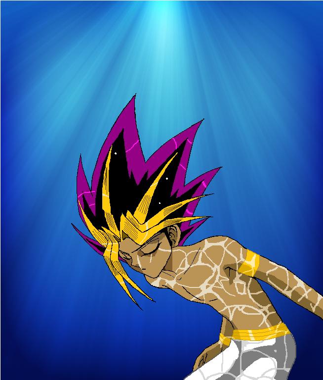 Pharaoh Atem Underwater by Shalialove