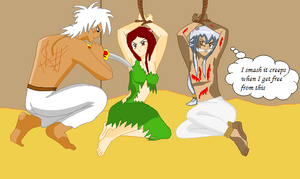 bakura and wolfgirl and wolfTsubasa