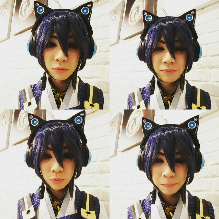 Neko ears Jiji by pikaomi