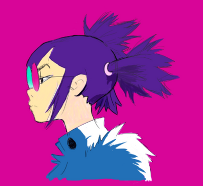 Noodle 1 Colour by pikaomi
